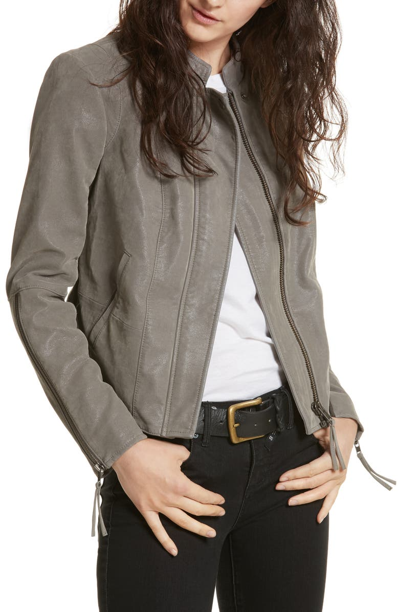 FREE PEOPLE Faux Leather Jacket, Main, color, 035