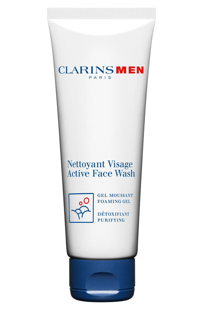 CLARINS Active Men's Face Wash, Main, color, NO COLOR