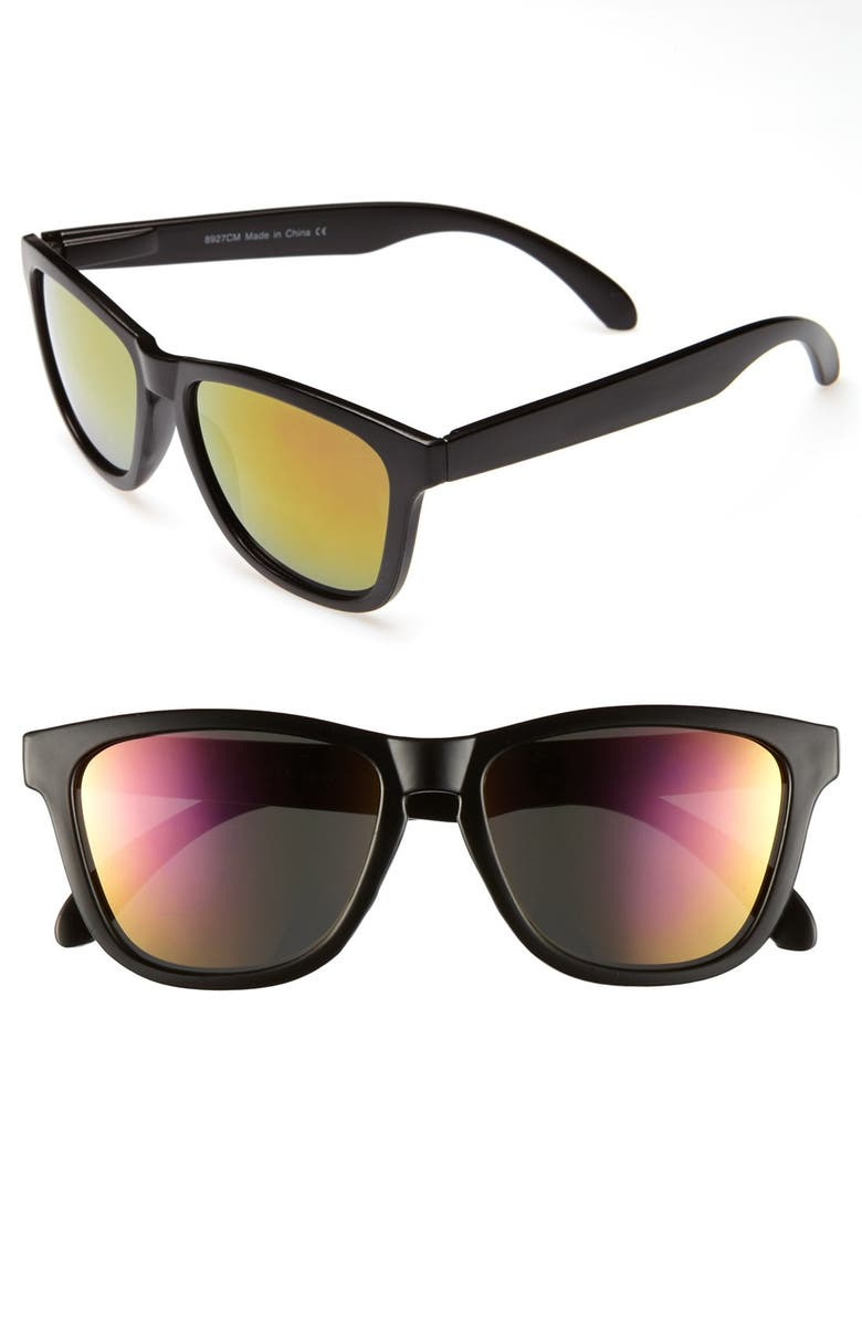 KW 'Comet' Sunglasses, Main, color, 001