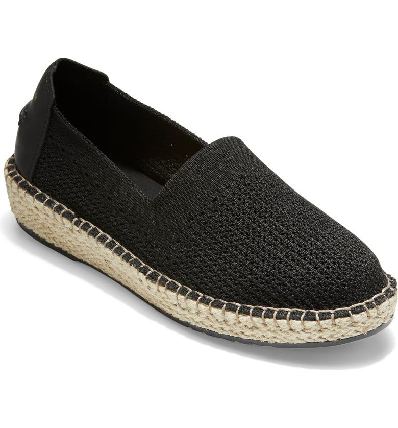 COLE HAAN Cloudfeel Stitchlite Espadrille, Main, color, 001