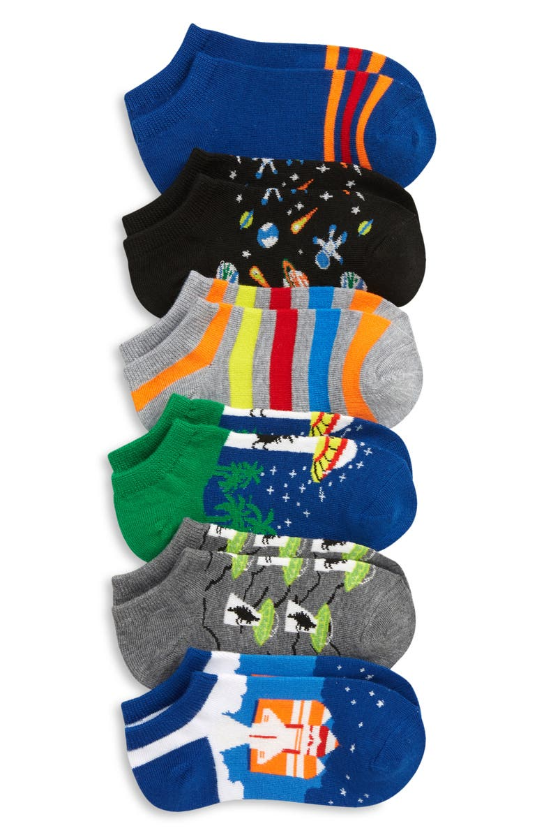 TUCKER + TATE Assorted 6-Pack Lowcut Socks, Main, color, 960