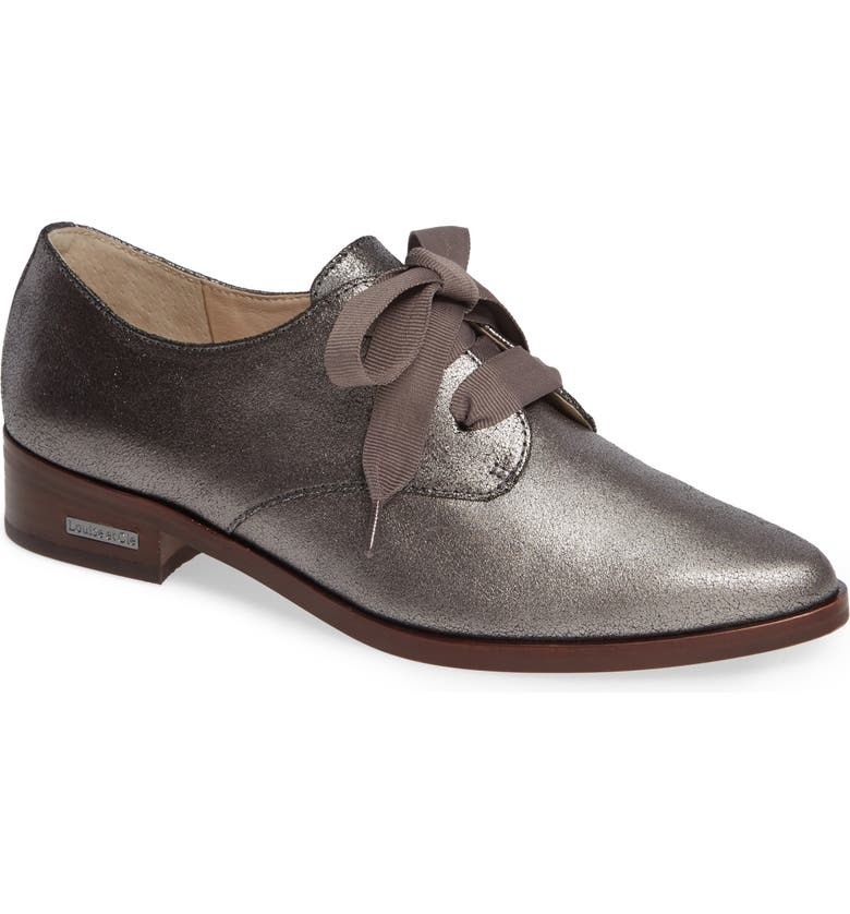 LOUISE ET CIE Adwin Almond Toe Oxford, Main, color, 022