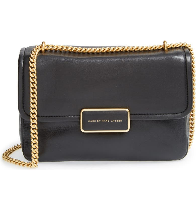 MARC JACOBS MARC BY MARC JACOBS 'Rebel' Crossbody Bag, Main, color, 001