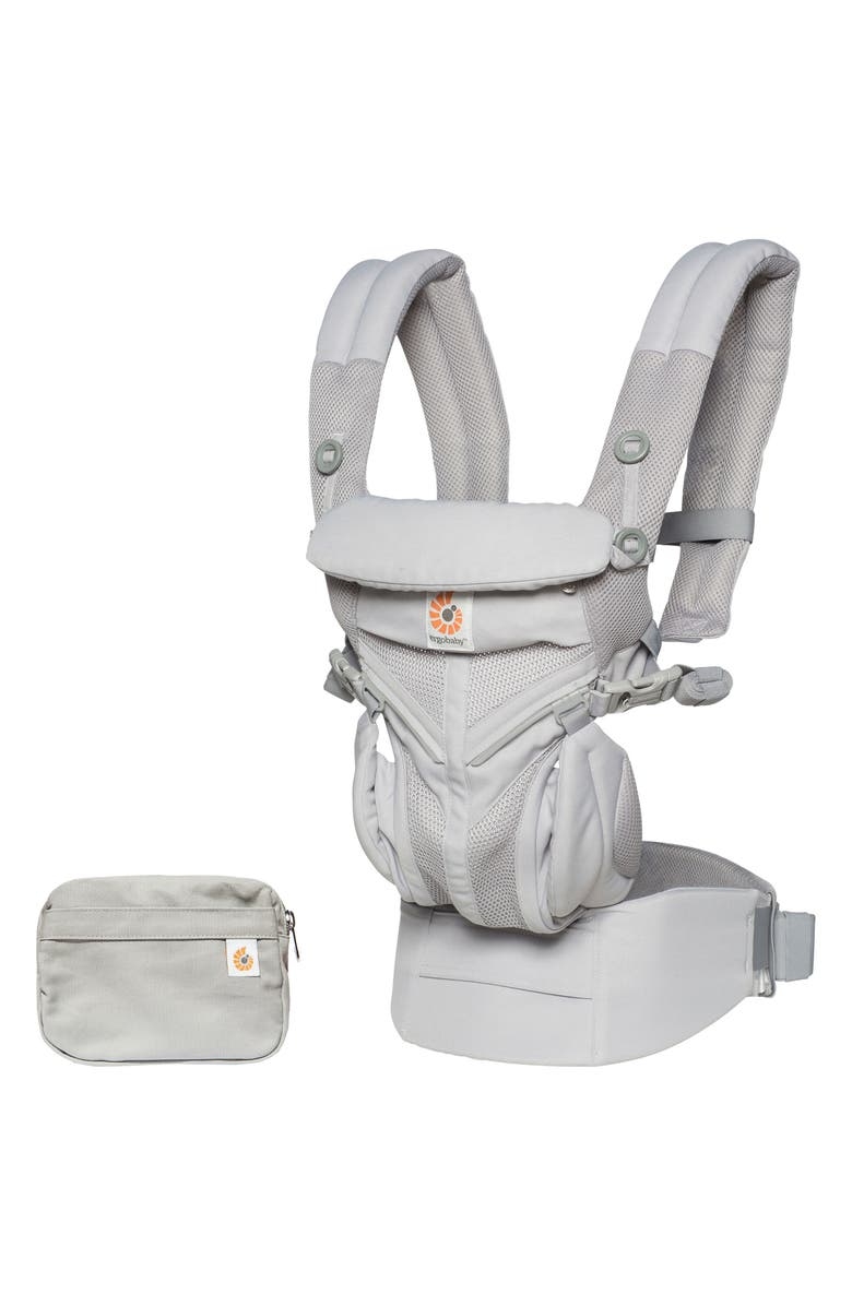 ERGOBABY Omni 360 Cool Air Baby Carrier, Main, color, PEARL GREY
