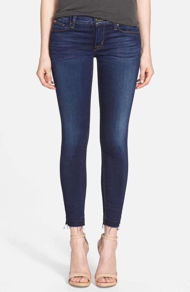 HUDSON JEANS 'Ginny' Rolled Crop Jeans, Main, color, 400