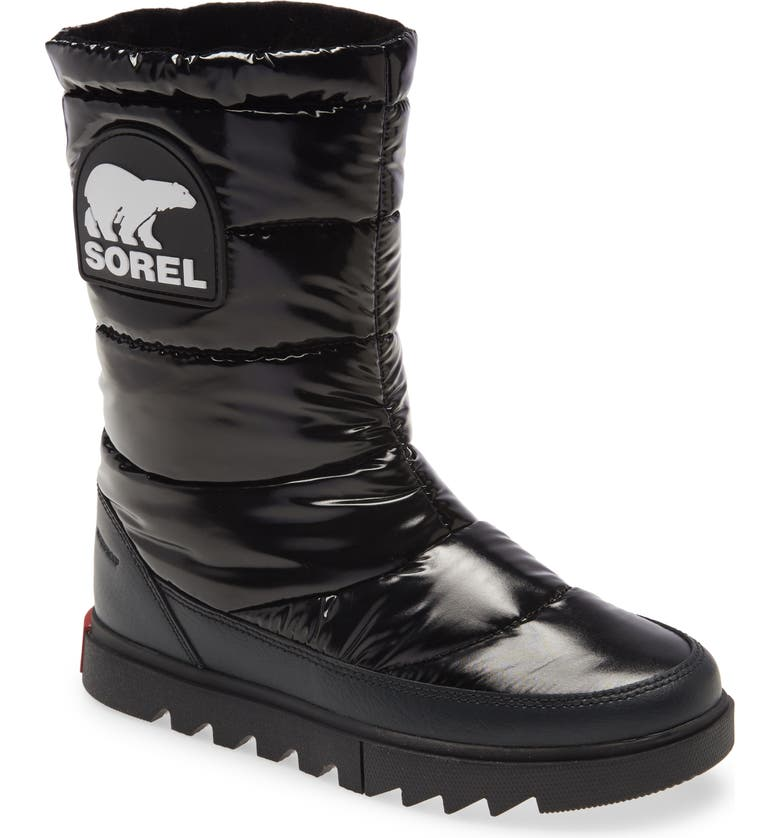SOREL Joan of Arctic<sup>™</sup> NEXT LITE Waterproof Quilted Boot, Main, color, 010
