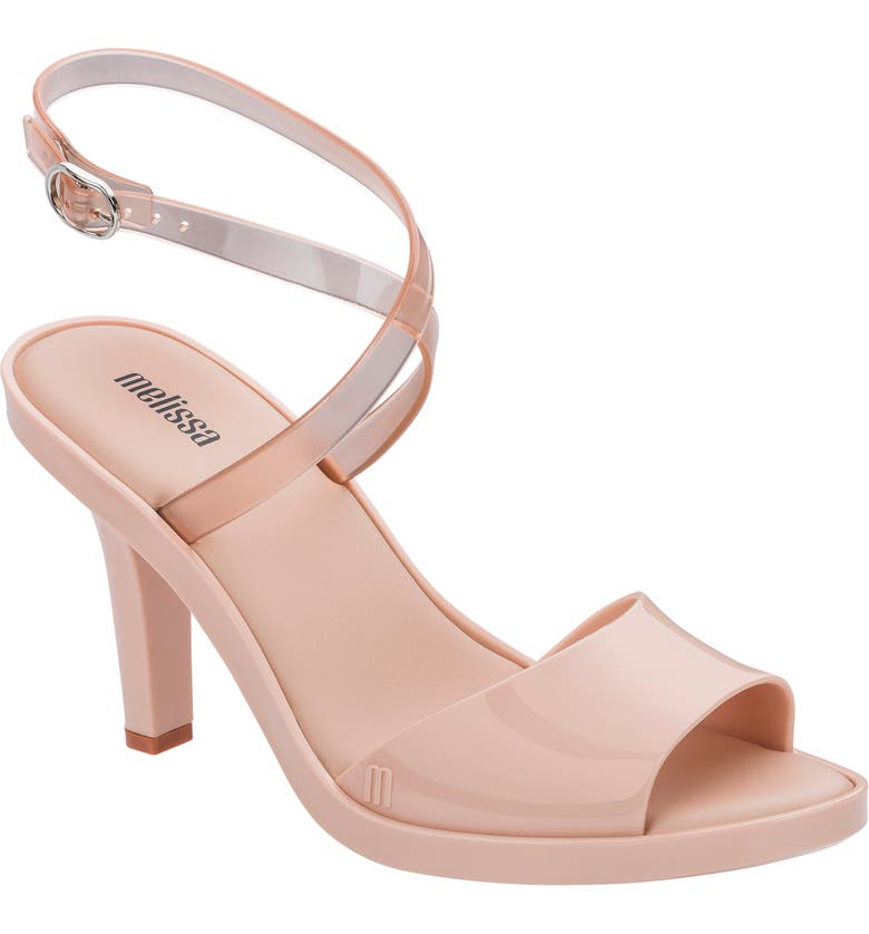 MELISSA Atena AD Sandal, Main, color, PINK RUBBER