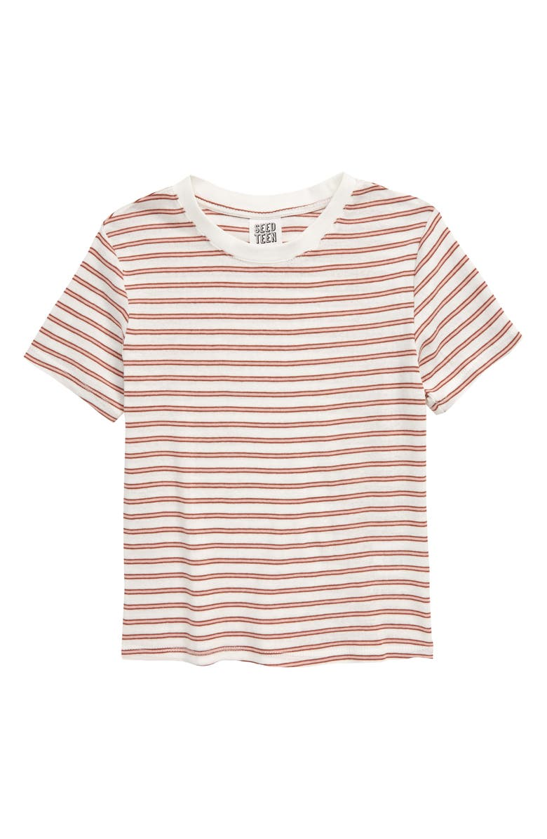 SEED HERITAGE Stripe T-Shirt, Main, color, 650