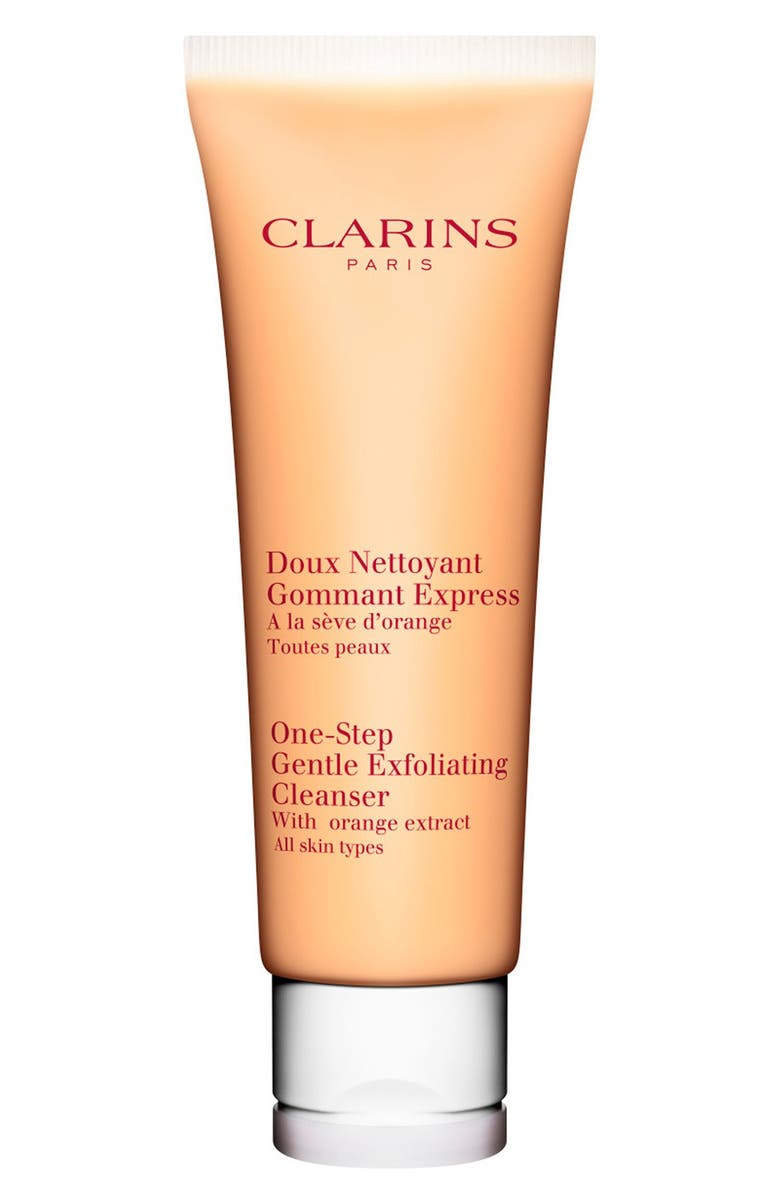 CLARINS One-Step Gentle Exfoliating Cleanser with Orange Extract, Main, color, NO COLOR