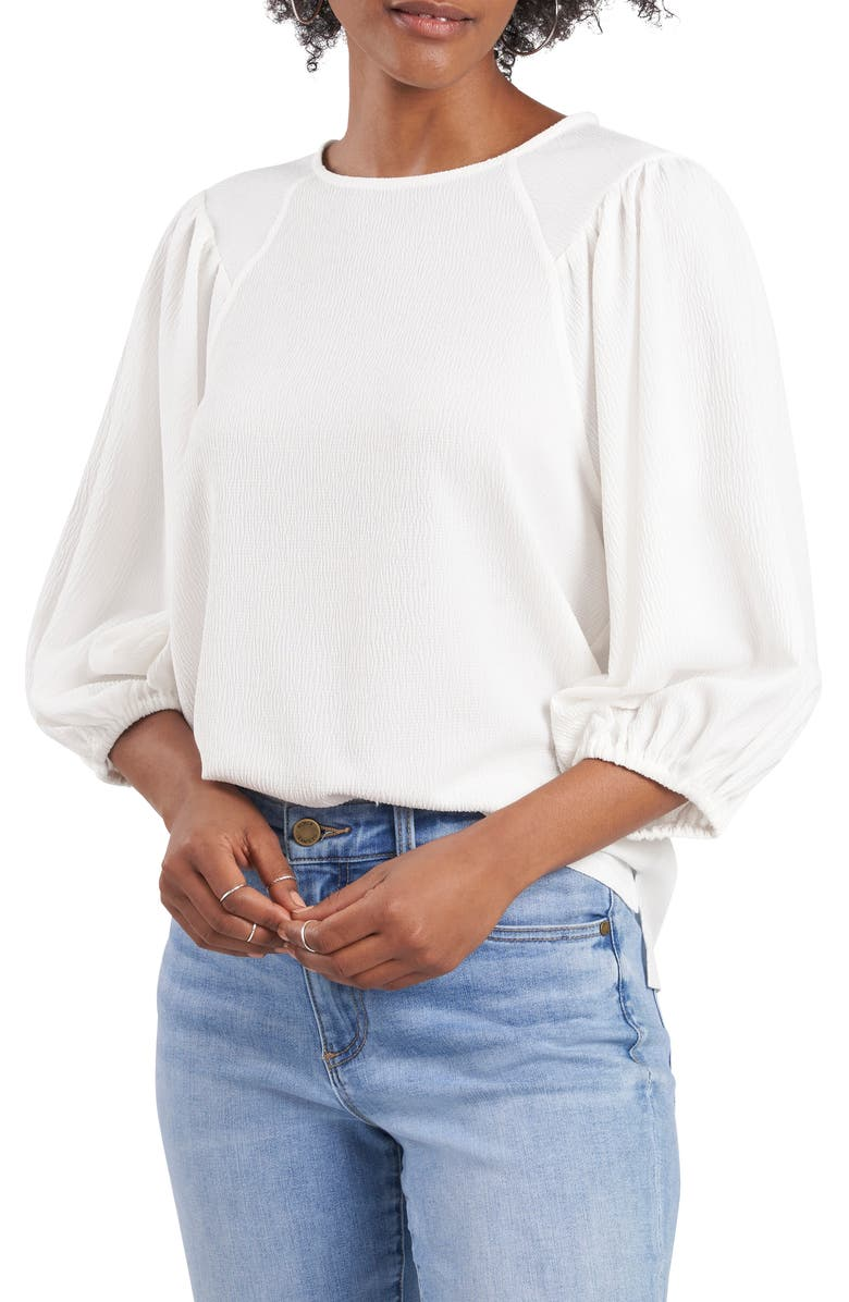 VINCE CAMUTO Puff Sleeve Top, Main, color, 103