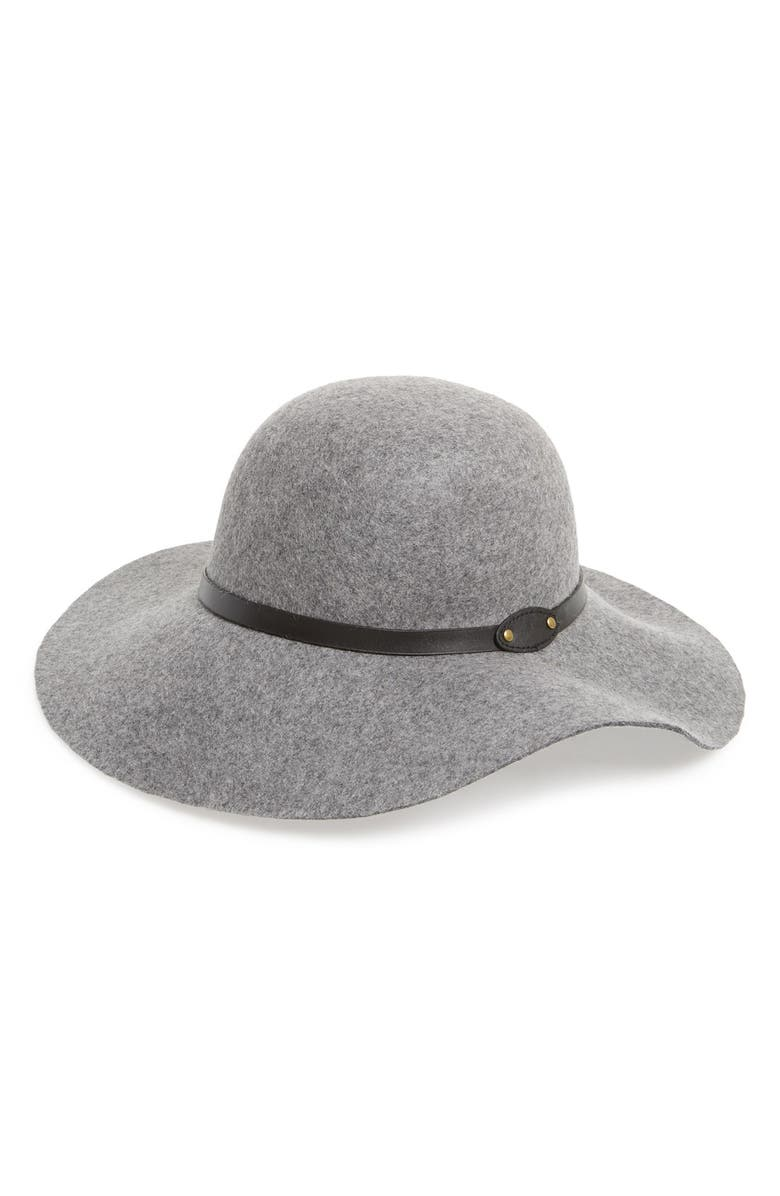 DAVID & YOUNG Floppy Wool Hat, Main, color, 051
