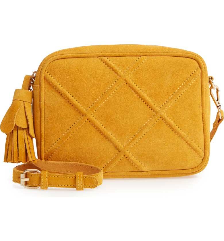 LEITH Quilted Leather Crossbody Bag, Main, color, 700